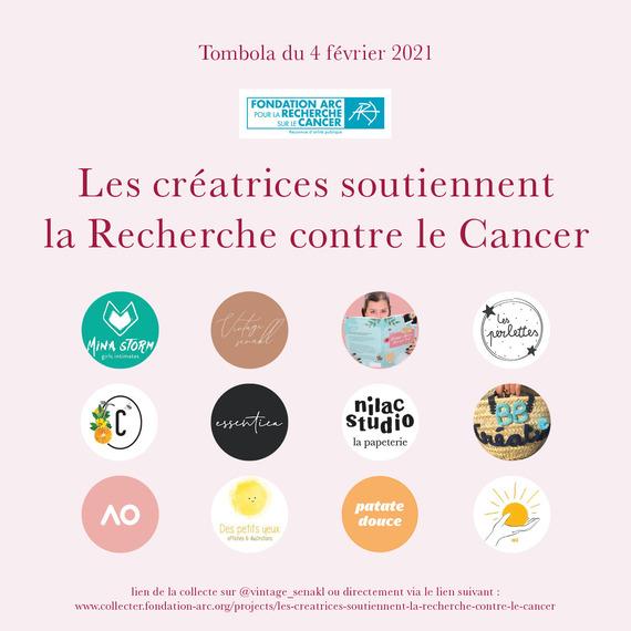 Les créatrices soutiennent  la Recherche contre le Cancer