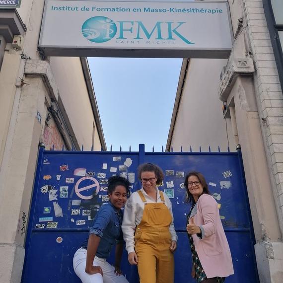 IFMK St Michel soutient le Triathlon des roses! Et vous ?
