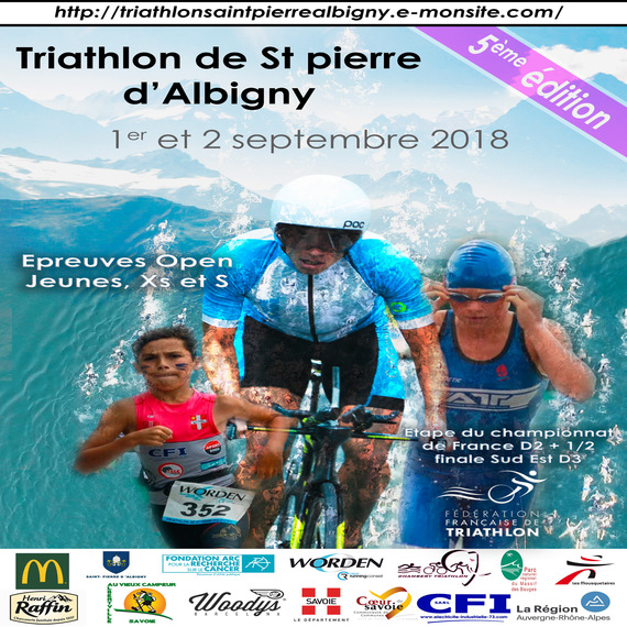 Triathlon de Saint-Pierre d'Albigny
