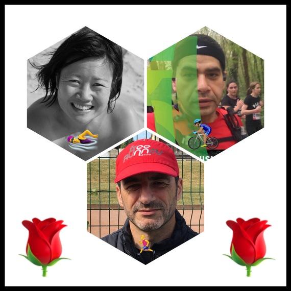 Courir solidaire: les Free Runners au triathlon des Roses
