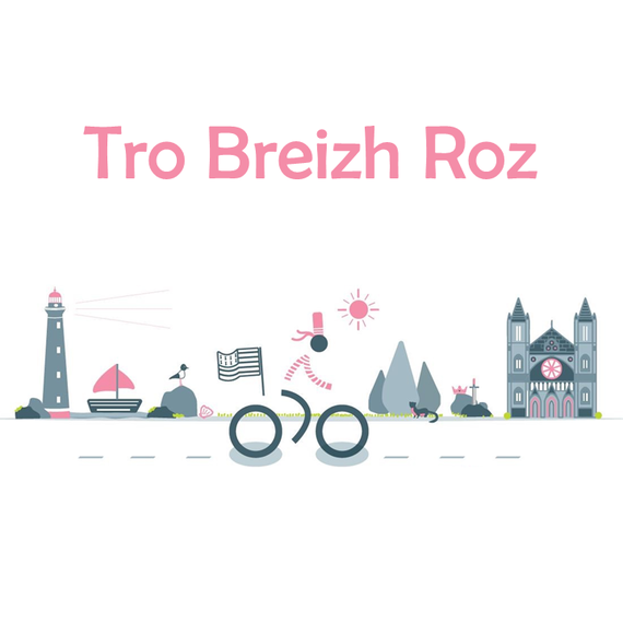 Tro Breizh Roz :   un tour de Bretagne à vélo pour se remettre en forme et communiquer sur le cancer du sein Triple Négatif