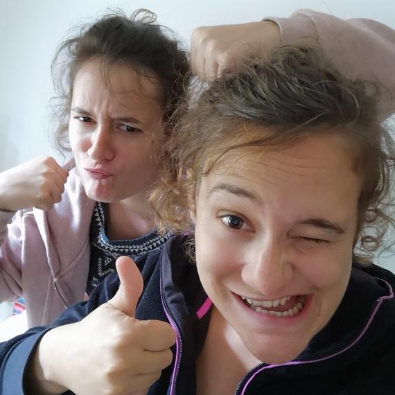 2 soeurs, 1 triathlon ==> recherche pour le cancer