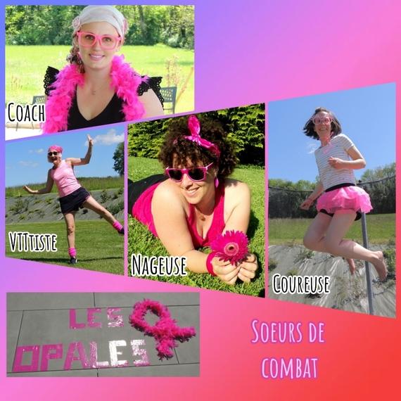 Grâce à vos dons, notre triathlon : ensemble, COMBATTONS !