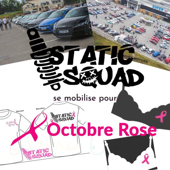 La Static Squad ce mobilise contre le cancer du sein