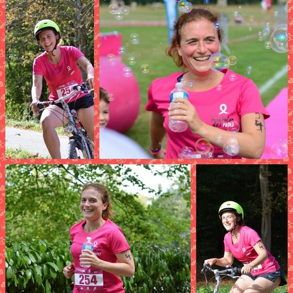 Helene Triathlon des roses 2019 - C'est pas fini!
