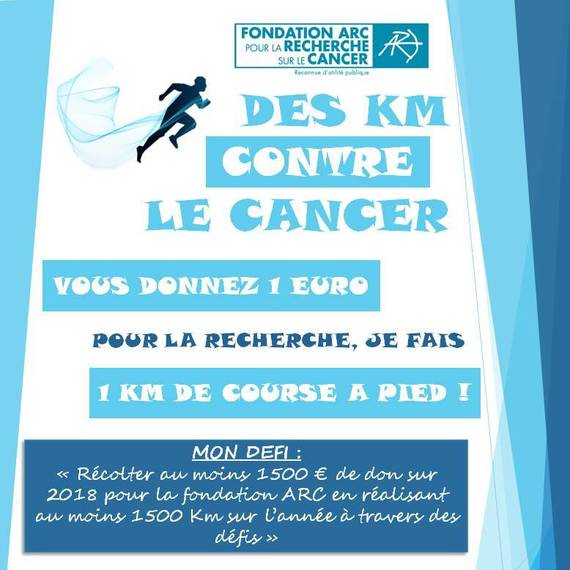Des KM contre le cancer