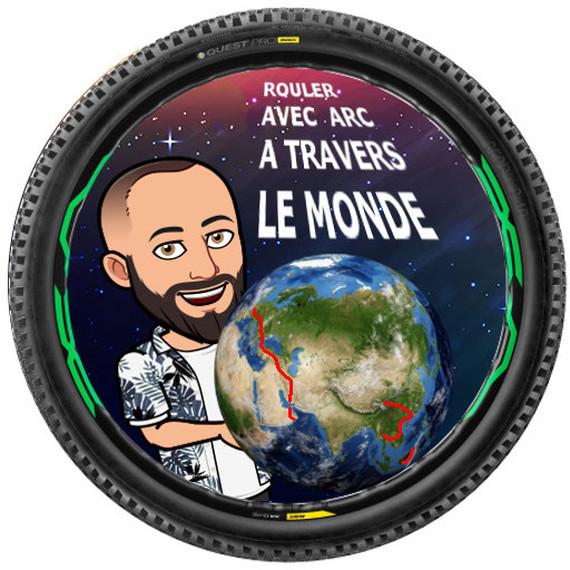 Rouler 15000 km avec ARC  a travers le monde