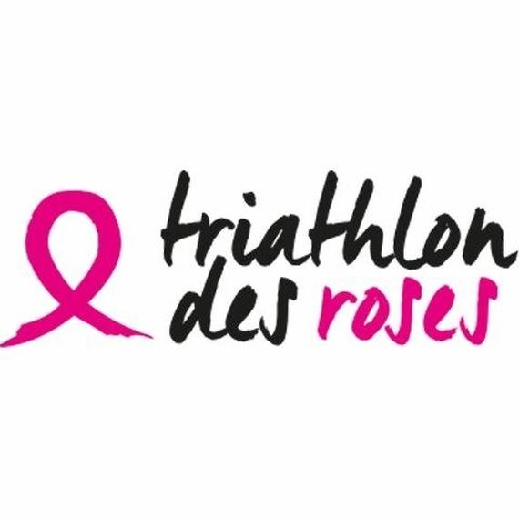 Les Flammes en Rose au Triathlon des Roses