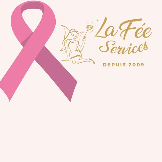 La Fée Services collecte pour l'Octobre Rose