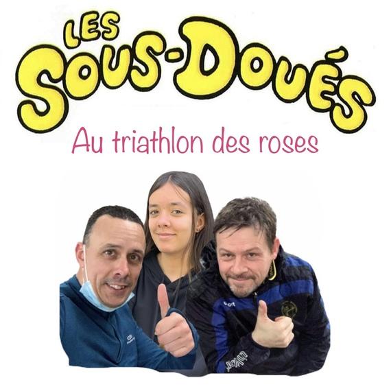 Les sous-doués au triathlon des roses