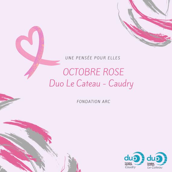 Octobre Rose Duo Le Cateau - Caudry