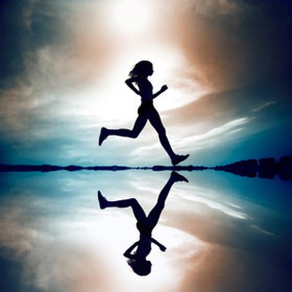 Courir pour la rechercher sur le cancer