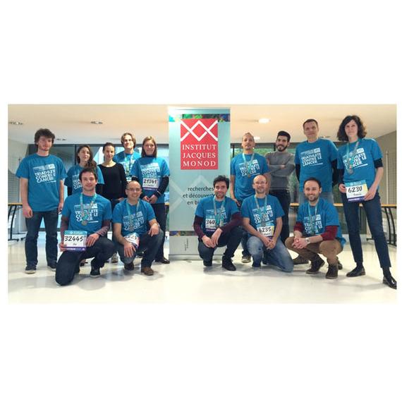 Les chercheurs de l'Institut Jacques Monod au Semi-Marathon de Paris au profit de l'ARC